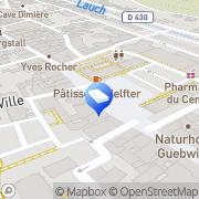 Carte de Agence Throo Guebwiller, France