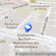 Karte GIV Grubert Immobilien Verwaltung GmbH Bochum, Deutschland
