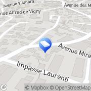 Carte de Hugounenc Leon Nice, France