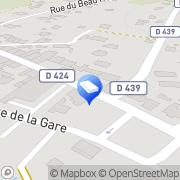 Carte de Pressing des 3 Tours Villé, France