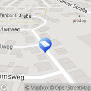 Karte Wolbeck-Remmers Architekten Lingen, Deutschland