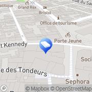 Carte de Coiffure Color Xtens Mulhouse, France