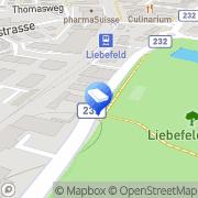 Karte Nussbaum Maler und Gipser Bern / Liebefeld, Schweiz