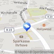 Karte I. Brandt Steuerberater Ihrhove, Deutschland