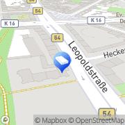 Karte Werner Elektro GmbH Dortmund, Deutschland