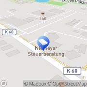 Karte Steuerberatungskanzlei Niemeyer Petra Niemeyer Westoverledingen, Deutschland