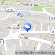 Carte de d'une Pièce À l'Autre Obernai, France