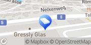 Karte Gressly Glas AG Bellach, Schweiz