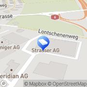 Karte Strasser AG Thun Thun, Schweiz