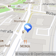 Karte LBS Immobilien GmbH Münster, Deutschland