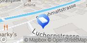 Carte de Bittel Innendekorationen AG Zermatt, Suisse