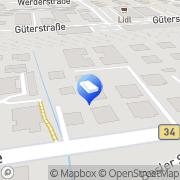 Karte Fair Invest GmbH Rheinfelden (Baden), Deutschland