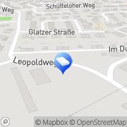 Karte Meister Industriefeuerungen Neuenrade, Deutschland