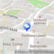 Karte Hans Reber Sissach, Schweiz