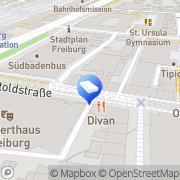 Karte GIT HydroS Consult GmbH Freiburg im Breisgau, Deutschland