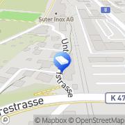 Karte Gebr. Hutter Schinznach Bad, Schweiz
