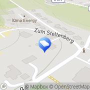 Karte Technischer Überpüfungs-Service Eslohe (Sauerland), Deutschland