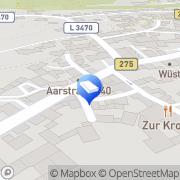 Karte Friseur Faulhaber Taunusstein, Deutschland