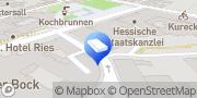 Karte GEVE GmbH & Co. KG Wiesbaden, Deutschland