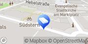 Karte Schlütersche Marketing Services GmbH Karlsruhe, Deutschland