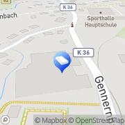 Karte Jung Grossmechanik GmbH &Co.KG Bad Laasphe, Deutschland