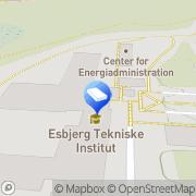 Kort Dansk Miljørådgivning A/S (DMR Geoteknik & DMR Arbejdsmiljø) Esbjerg, Danmark