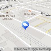 Karte Bernd Witz GmbH Villingen-Schwenningen, Deutschland