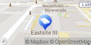 Karte Engel & Völkers Mannheim Commercial Mannheim, Deutschland