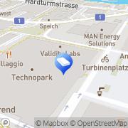 Karte InfoLit Infobroker GmbH Zürich, Schweiz