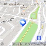 Karte Andreas Marott Rechtsanwalt Bielefeld, Deutschland