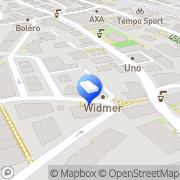 Karte Widmer Thalwil, Schweiz