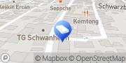 Karte Dernbach Bestattungen GbR Frankfurt am Main, Deutschland