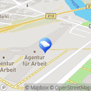 Karte Agentur Für Arbeit Bremerhaven, Deutschland
