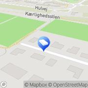 Kort Schmidt Kaj Tjæreborg, Danmark