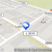 Karte Dr. Hug Geoconsult GmbH Oberursel, Deutschland