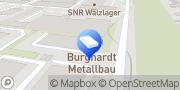 Karte Metallbau Burghardt Bielefeld, Deutschland