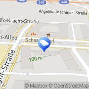Karte FINANCEDOOR Finanz- und Versicherungsmakler Frankfurt am Main, Deutschland