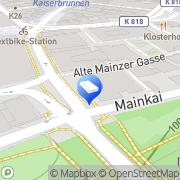 Karte CMS Hasche Sigle Frankfurt am Main, Deutschland