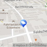 Karte Klaus Eismann und Partner Planungs- und Bauleitungs Frankfurt am Main, Deutschland