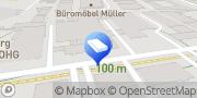 Karte Druck- und Verlagshaus Zarbock GmbH & Co. KG Frankfurt am Main, Deutschland