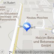 Karte KUJUS GMBH ELEKTRO HEIZUNG und SANITÄR Marburg, Deutschland