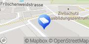 Karte Blaues Kreuz Brockenstube Winterthur, Schweiz