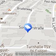 Karte EMK Elektromontage & Kundendienst Marburg, Deutschland
