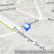 Karte Malermeisterbetrieb Krasniqi Wöllstadt, Deutschland