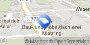 Karte Beerdigungsinstitut Backs-Köstring Bad Oeynhausen, Deutschland