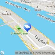 Karte Anwaelte Arbeitsrecht Bremen Lindenberg & Witting GmbH Bremen, Deutschland