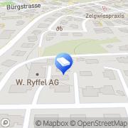 Karte Ryffel W. AG Bubikon, Schweiz