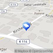 Karte Ove Jannsen Inkasso Niebüll, Deutschland