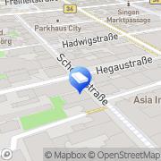 Karte SB Markt Textil & Wäsche Singen, Deutschland