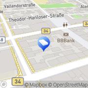 Karte clean and clear service Singen (Hohentwiel), Deutschland